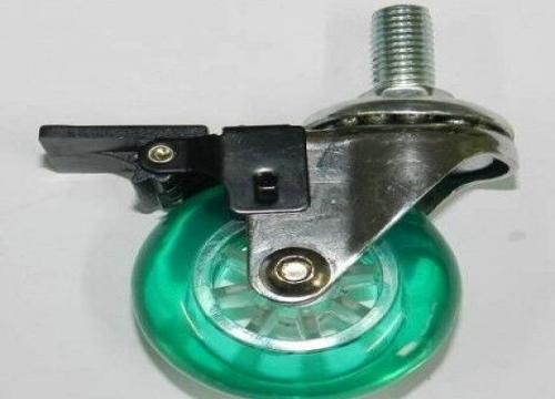 2寸 3寸彩色水晶刹车轮