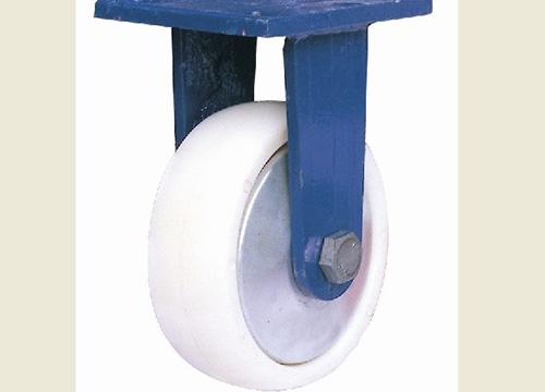 6寸蓝架尼龙固定轮