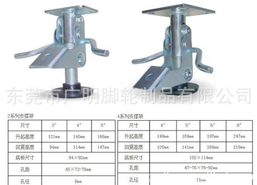 福马轮-可调节脚轮4