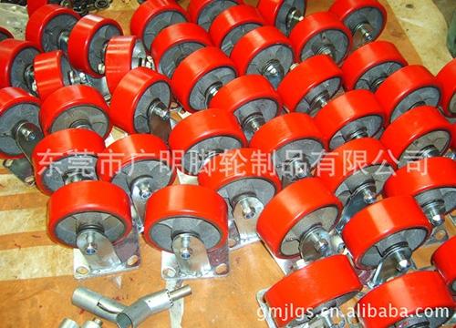 重型聚氨酯pu脚轮34.