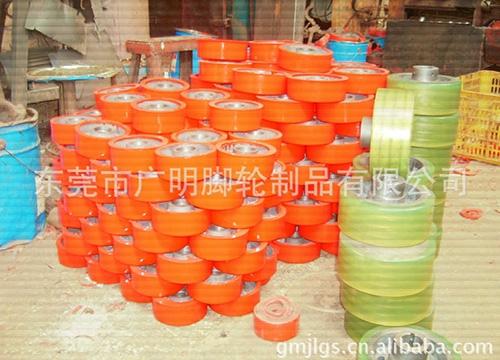 重型聚氨酯pu脚轮33