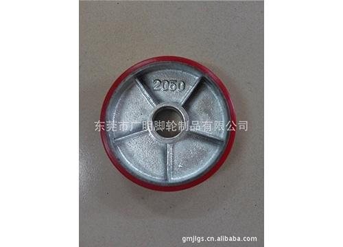 重型聚氨酯pu脚轮37
