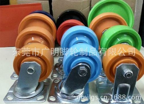 重型聚氨酯pu脚轮4