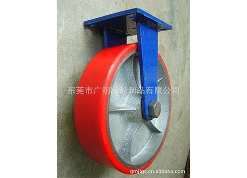 重型聚氨酯pu脚轮25