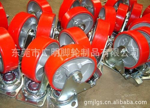 6×2-刹车脚轮