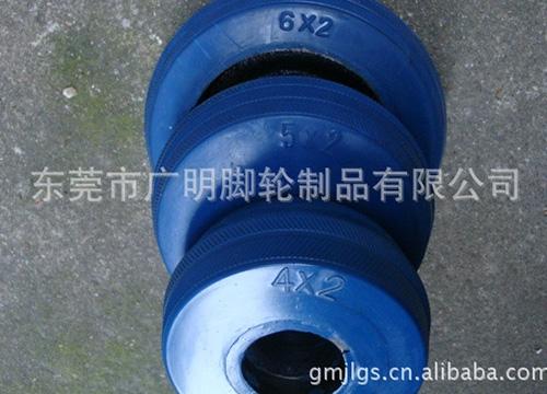 蓝色高弹力脚轮系列10