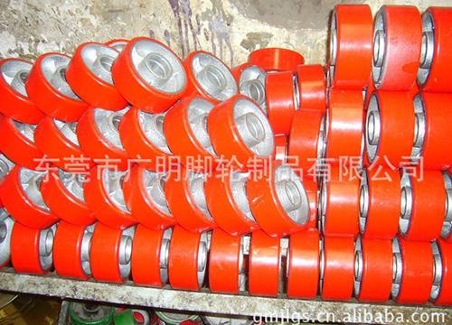 重型聚氨酯pu脚轮35
