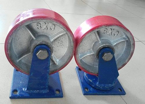 重型聚氨酯pu脚轮41