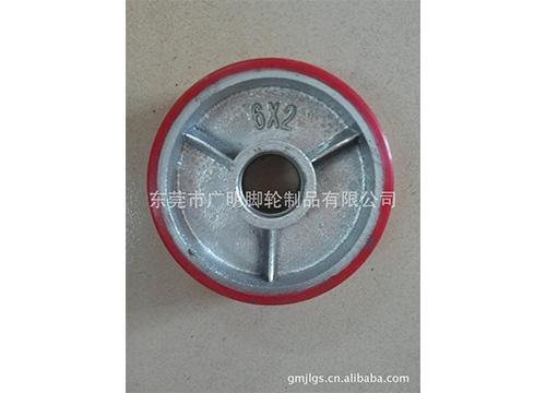 重型聚氨酯pu脚轮36