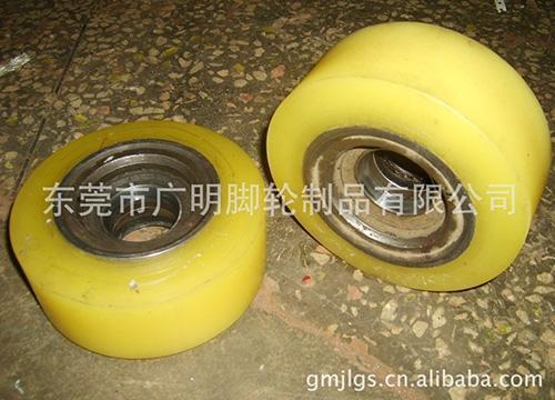 电动叉车包胶轮56